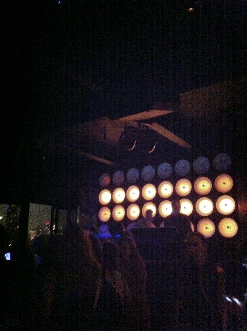 DJ booth at PH-D